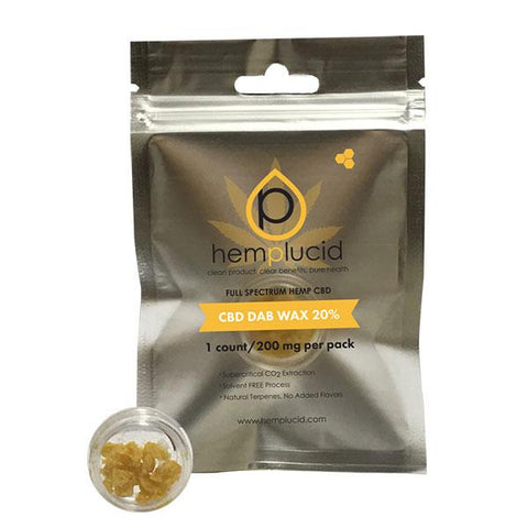 Hemp Lucid Dab Wax - Online Headshop Smoke Shop