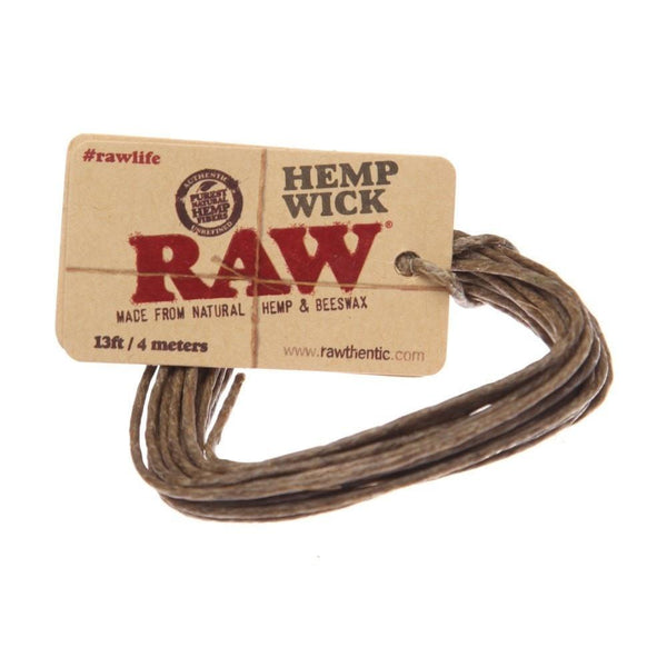 Raw Hemp Wick - Online Headshop Smoke Shop