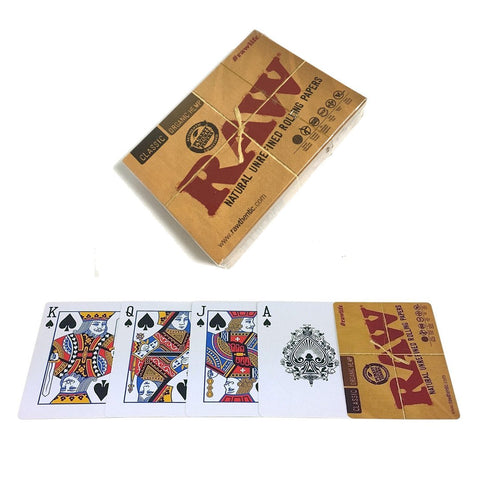 Raw Playing Cards - Online Headshop Smoke Shop