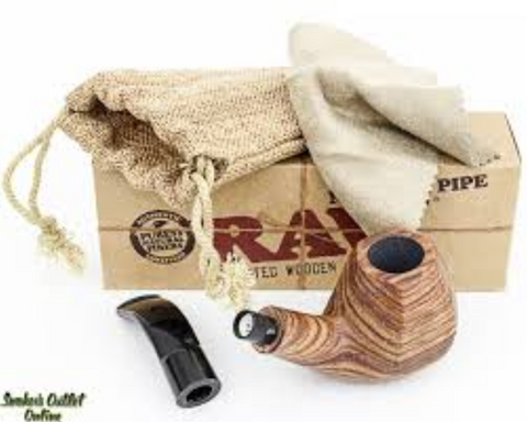 Raw Pipe Wooden - Online Headshop Smoke Shop