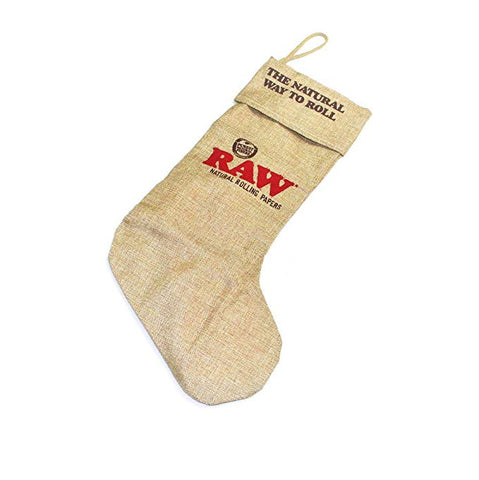 Raw Xmas Stocking