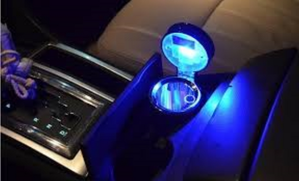 LED Car Ashtray