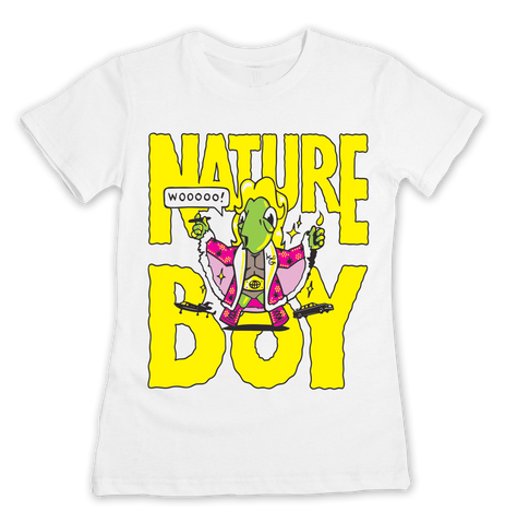 Women's WWEed Nature Boy T-shirt - Online Headshop Smoke Shop