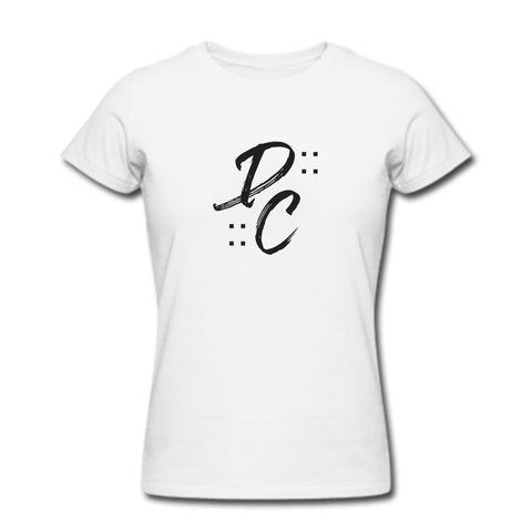 DC by DeMarre Carroll: DC Brushscript Women's T-Shirt