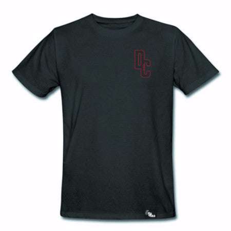 5TYLES: DC5 Men's Small Crest T-Shirt (Black)