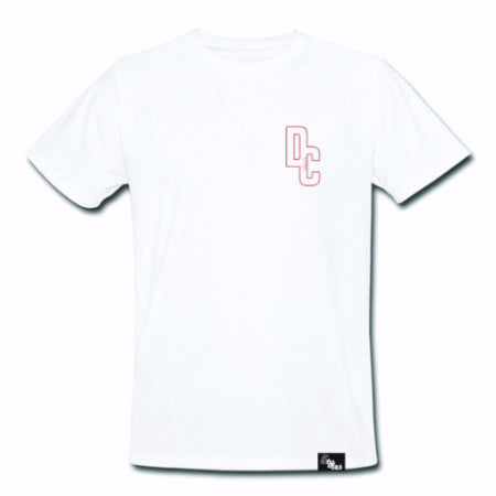 5TYLES: DC5 Men's Small Crest T-Shirt (White)