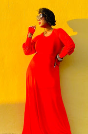 ARE YOU REDDY MAXI DRESS!!
