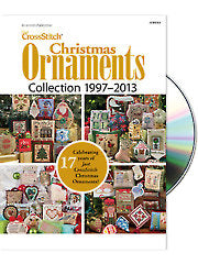 Just CrossStitch Christmas Ornaments Collection 1997-2013 DVD