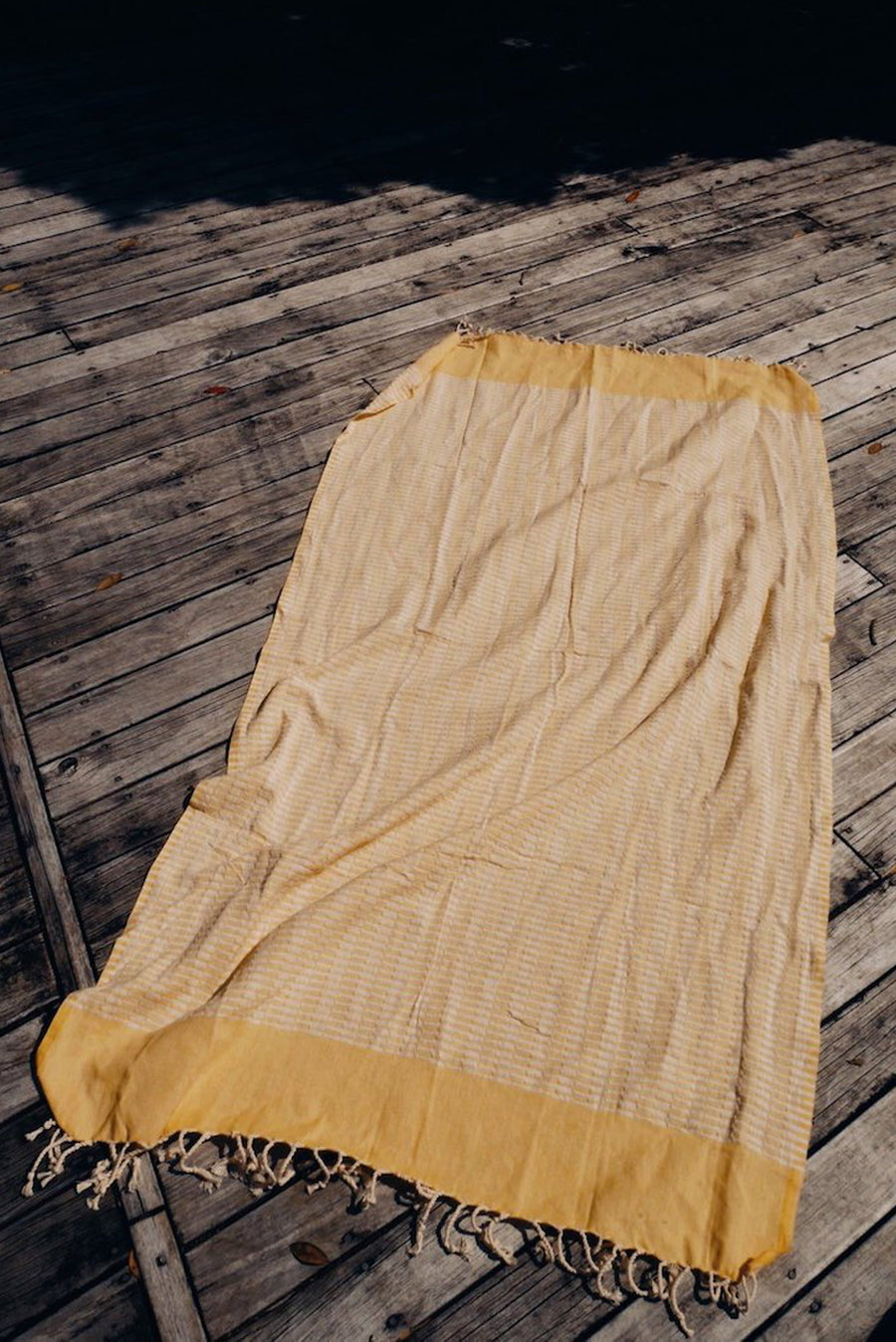 Yellow Beach Towel