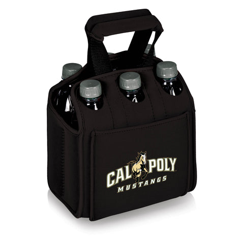 Cal Poly Mustangs Six Pack