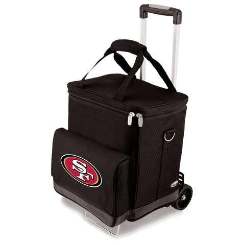 San Francisco 49ers Cellar w/Trolley