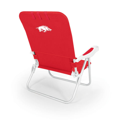Arkansas Razorbacks Monaco Beach Chair