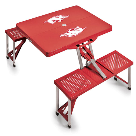 Arkansas Razorbacks Picnic Table