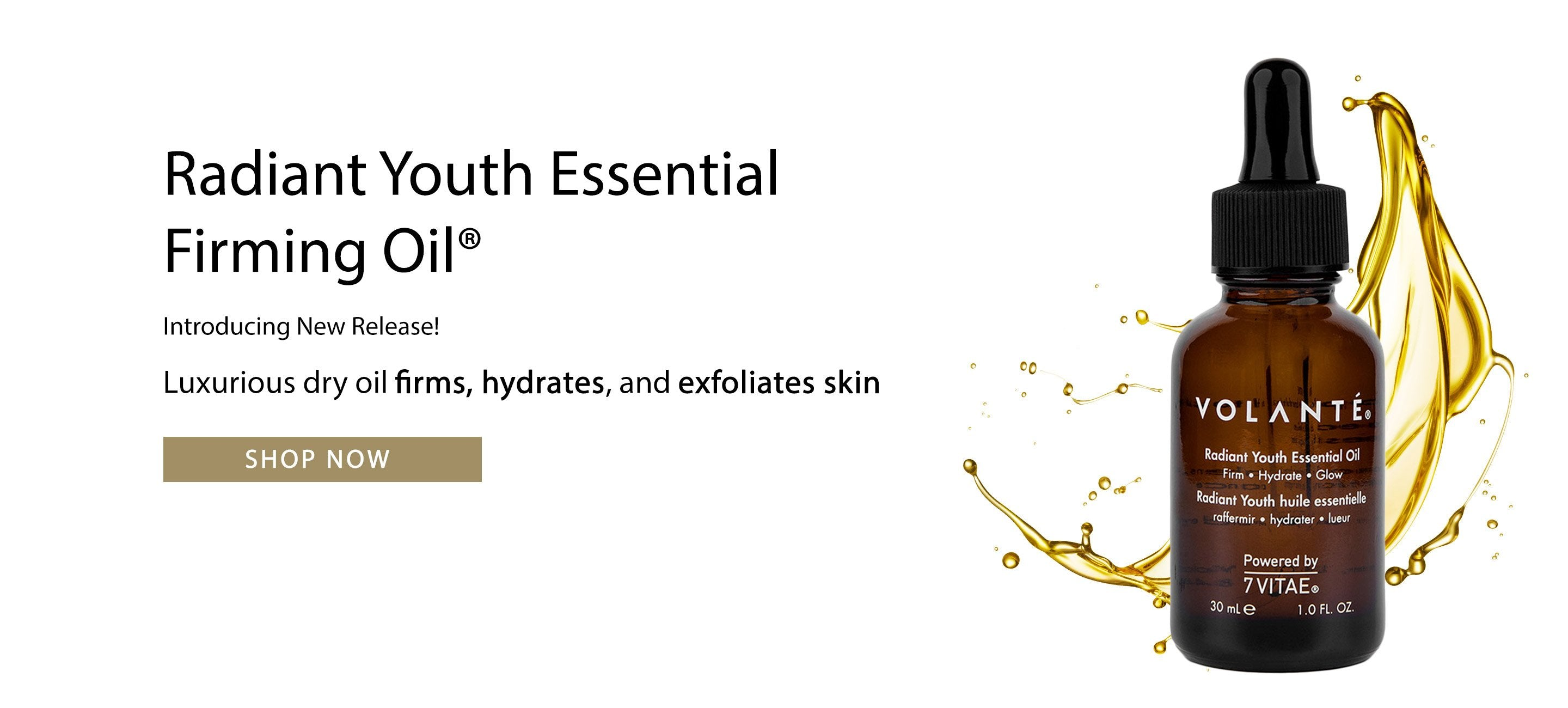 Radiant Youth Essential Firming Oil