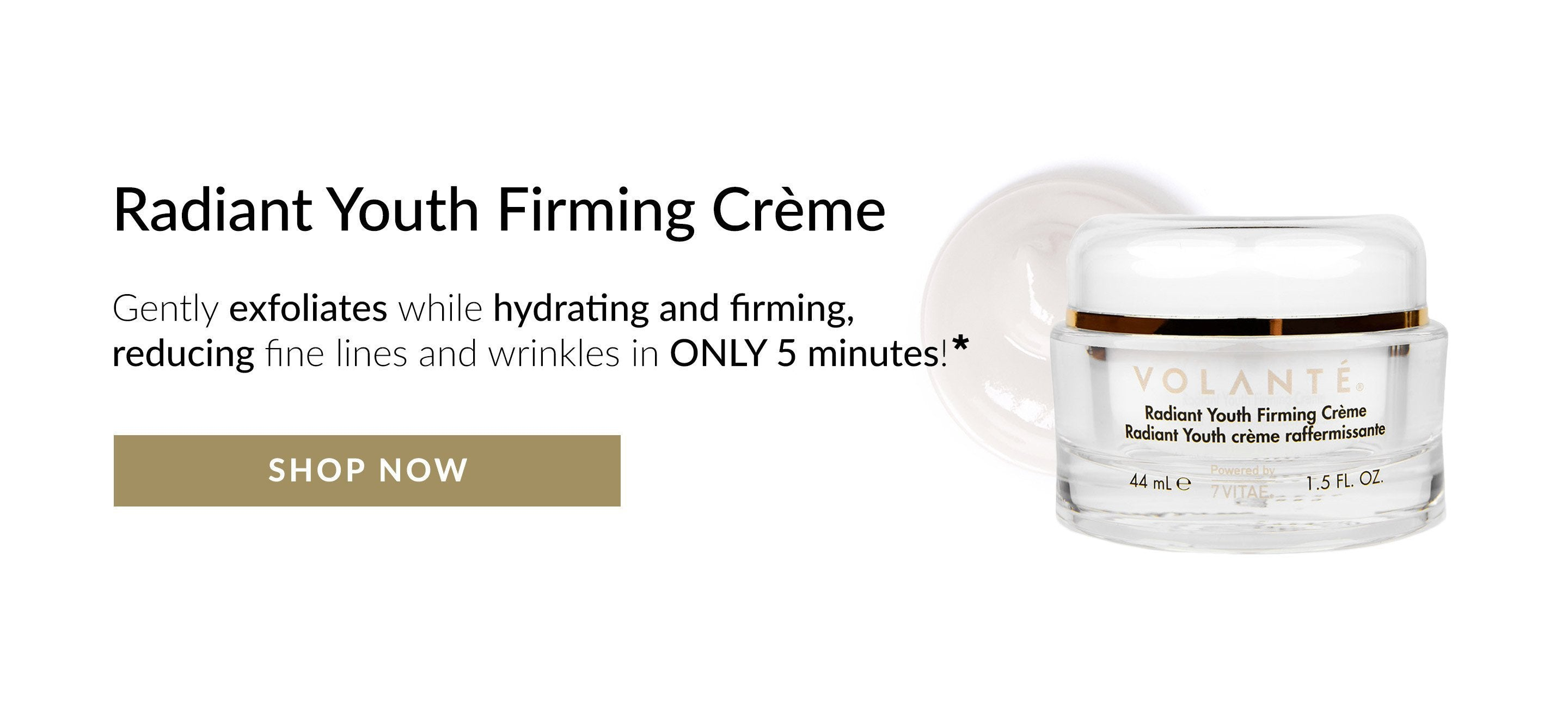 Radiant Youth Firming Creme