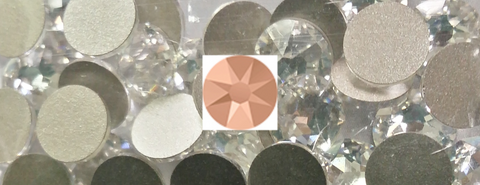 Swarovski® Crystal Flat Backs - 16ss Rose Gold