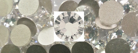 Swarovski® Crystal Flat Backs - 20ss Crystal Moonlight