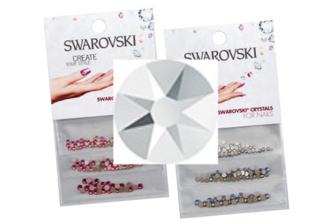 Swarovski® crystals 3 pack - Light Chrome