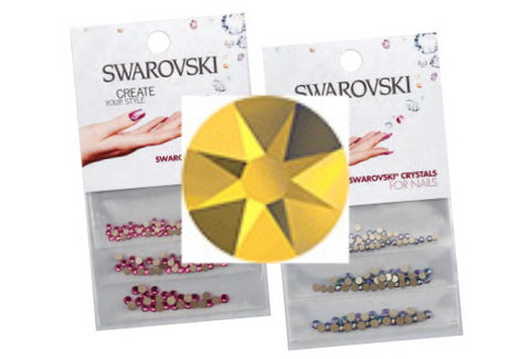 Swarovski® crystals 3 pack - Aurum