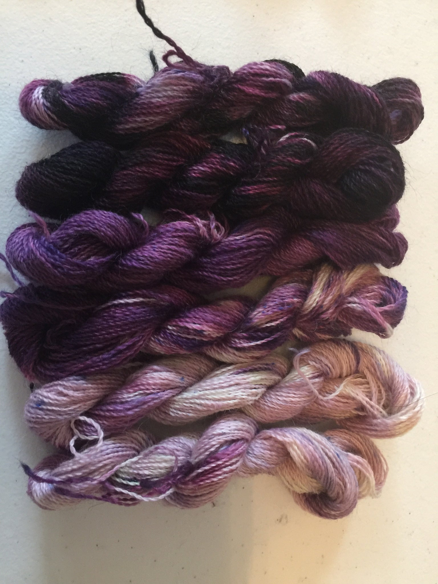 Mini skein yarn set