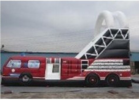 Firetruck Inflatable