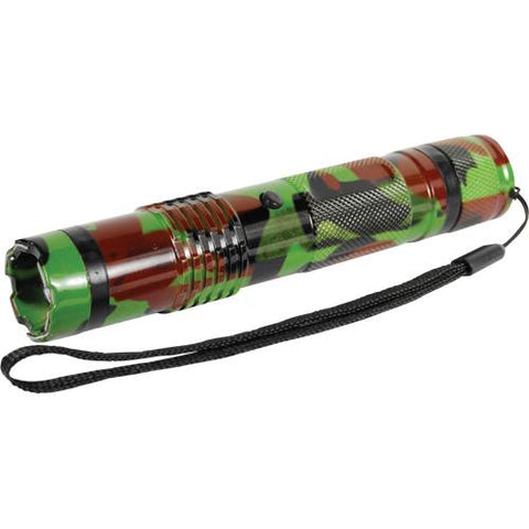 Camo BashLite 15,000,000 volt Stun Gun Flashlight
