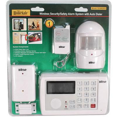 Wireless Home Security System - Safe2Me.Com
