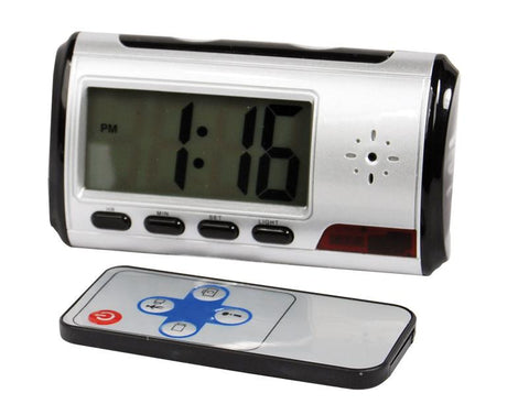 Mini Digital Color Alarm Clock DVR - Safe2Me.Com