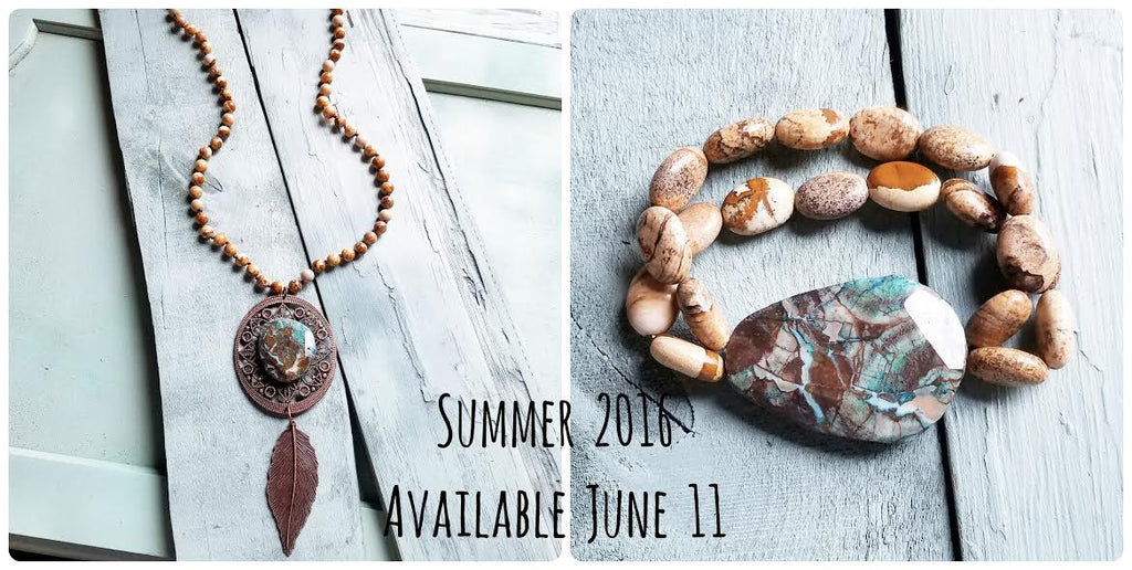 June Market and New Summer 2016 Jewelry