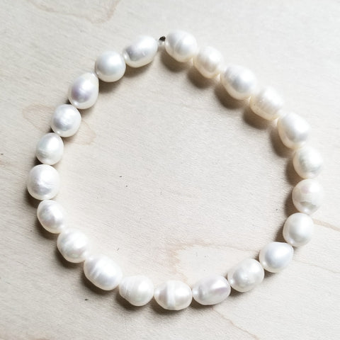 Bracelet Bar-Freshwater Pearl 800g* - The Jewelry Junkie
