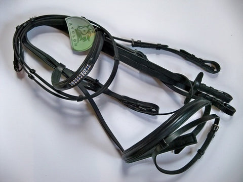 English Bridle - Full - Black by BR
