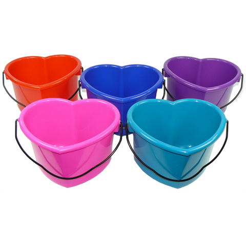 Heart Shaped Feed Bucket