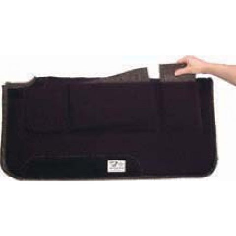 Diamond Wool  The Pressure Relief Western Saddle Pad