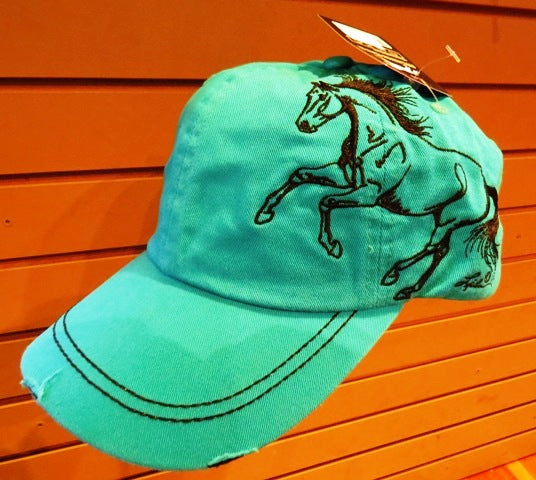 Turquoise Gallop Hat