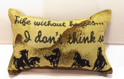 "Pillow - ""Life without Horses"" ?"
