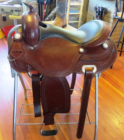 Madison - Western Trail Saddle by Western Rawhide