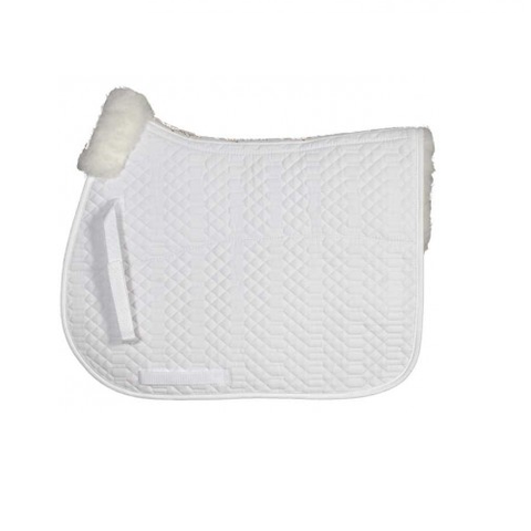 Tuscany Dressage Pad with Sheepskin half pad