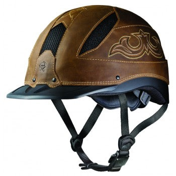 Troxel Cheyenne, Brown Riding Helmet