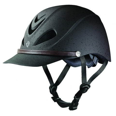 Troxel Dakota Grizzly Brown Riding Helmet