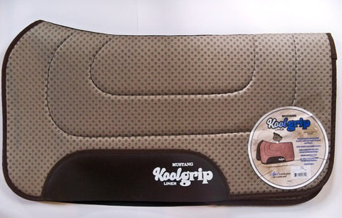 Mustang  Koolgrip Liner and Saddle Pad