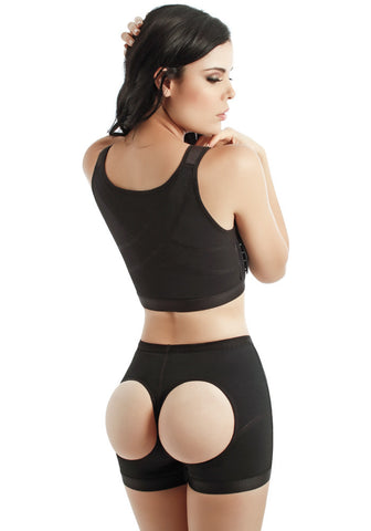Fajate CYSM 202 Short Termico Realza Gluteos / Thermal Butt-Lifting Shorts Fajas Colombianas | My Fab Fit - 1