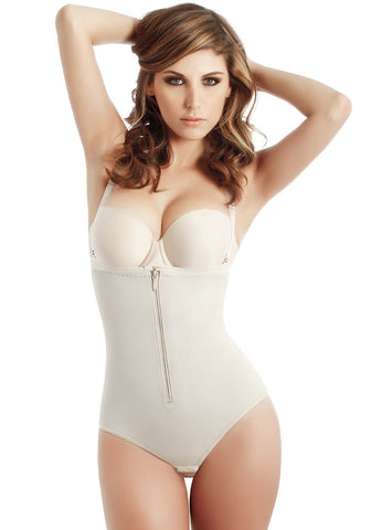 62dba2d5513ca 55.99. Fajate CYSM 2106 Body Térmico   Ultra Control Full Back Body Shaper  Fajas Colombianas ...