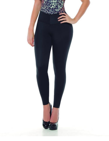 Bcurved 8081 Women's Leggings With Internal Body Shaper Butt Lifter Levantacola