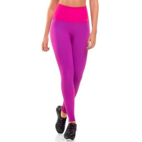 CYSM 908 Ultra Compression and Abdomen Control Fit Leggings Fucshia