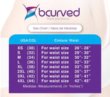 Bcurved 8081 Women's Leggings With Internal Body Shaper Butt Lifter Levanta Cola | My Fab Fit - 2