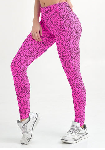 CYSM Fit  Skinny Leggings PINK | My Fab Fit - 1