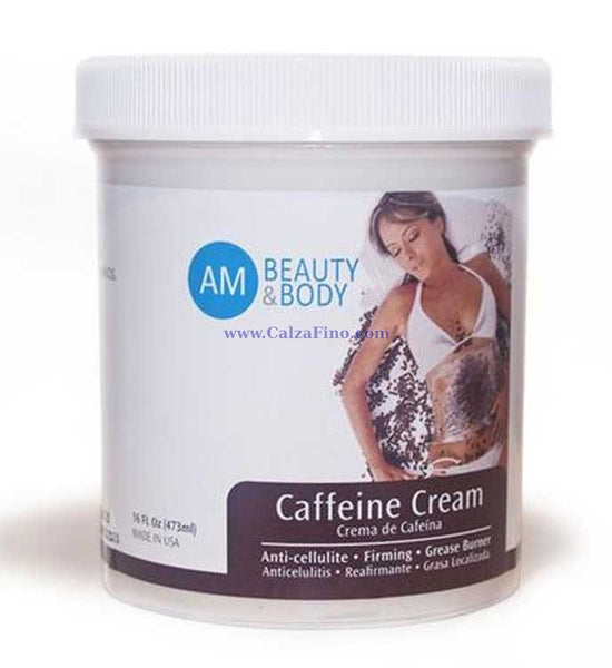 Ann Michell Beauty & Body Caffeine Cream Anti Cellulite Firming Waist Treatment 16 FL Oz - My Fab Fit