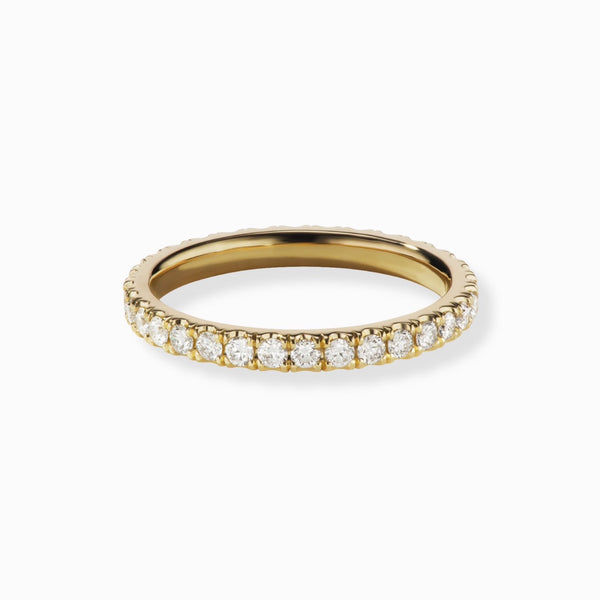 GIGI Round Diamond Eternity Band