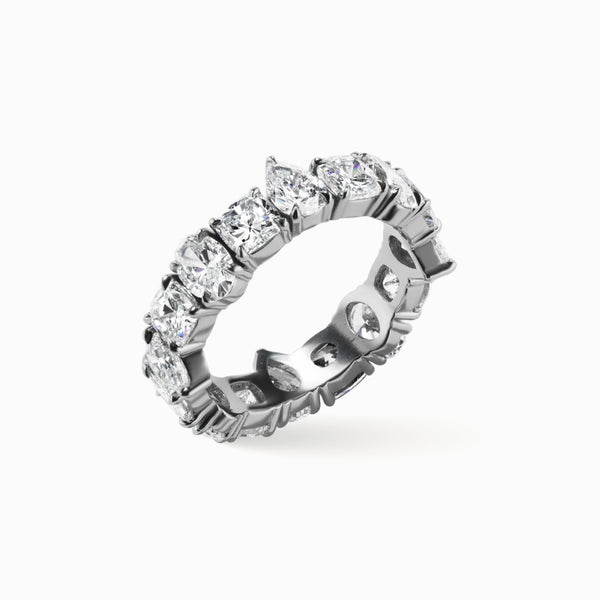 ALAYA Multi-Shape Diamond Band