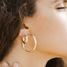 XS ANANYA 14KT Gold Hollow Hoops